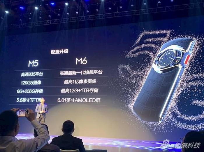 Smartphone đầu tiên dùng Snapdragon 865: camera 64MP, đồng hồ cơ trên lưng, trợ lý thật - Hình 2