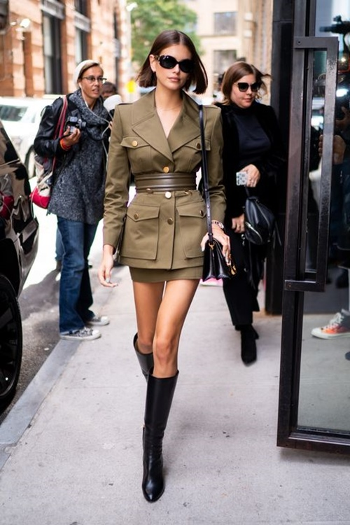 4 công thức mặc đẹp, khoe chân dài của con gái Cindy Crawford - Hình 1