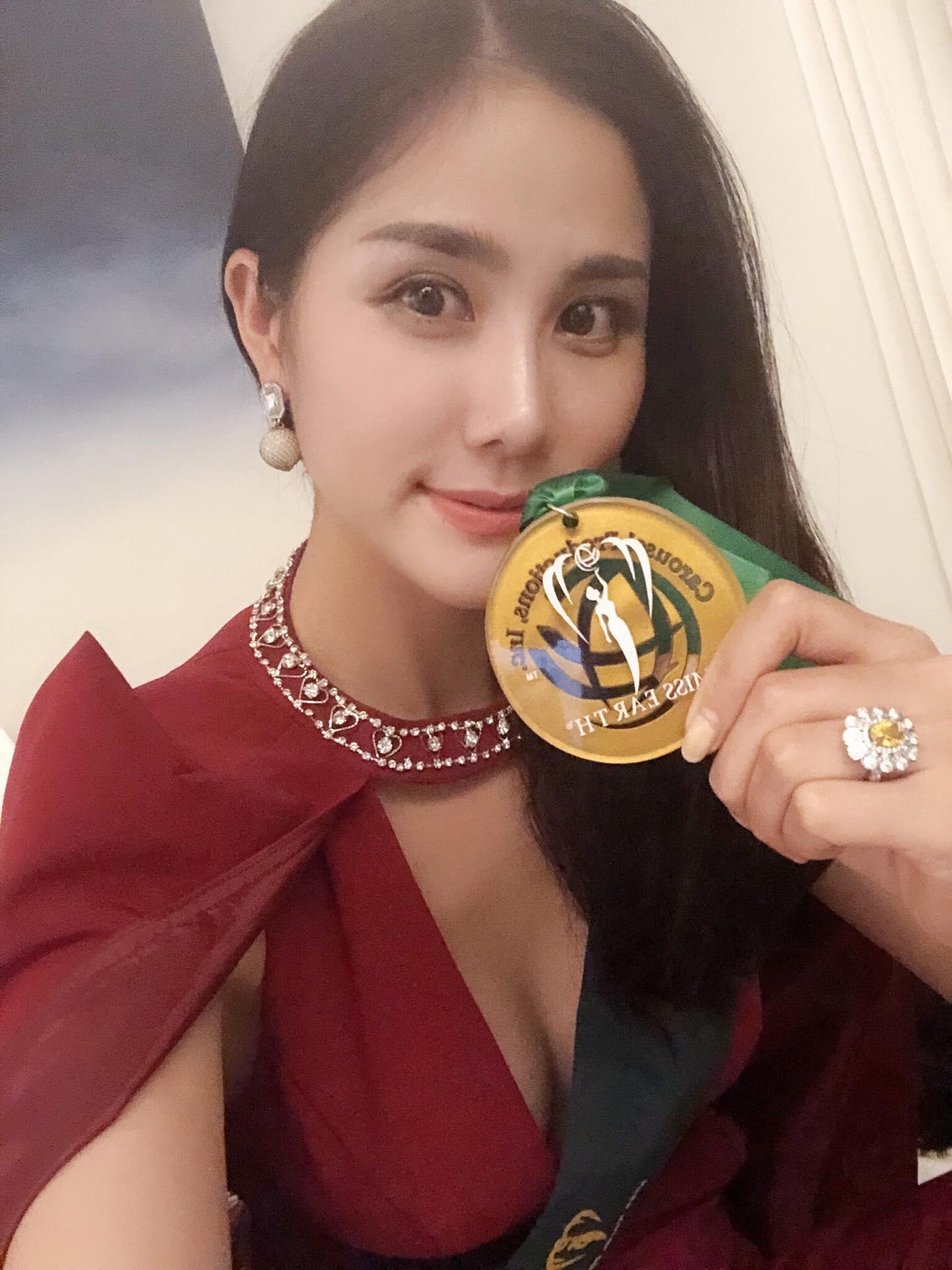 Chiến thuật thời trang thông minh giúp Hoàng Hạnh giành huy chương vàng phần thi Resort Wear - Hình 2