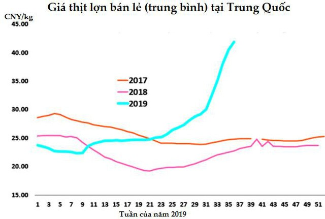 Sức nóng của thị trường thịt lợn thế giới dự báo sẽ kéo dài tới 2020 - Hình 1