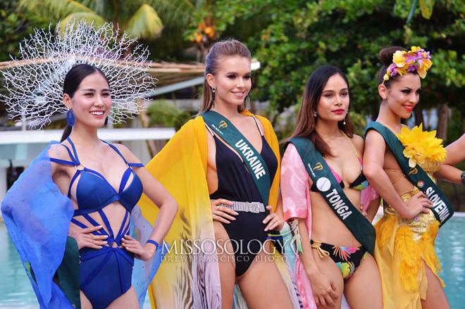 Hoàng Hạnh đạt giải vàng đầu tiên ở Hoa hậu Trái Đất - Hình 1