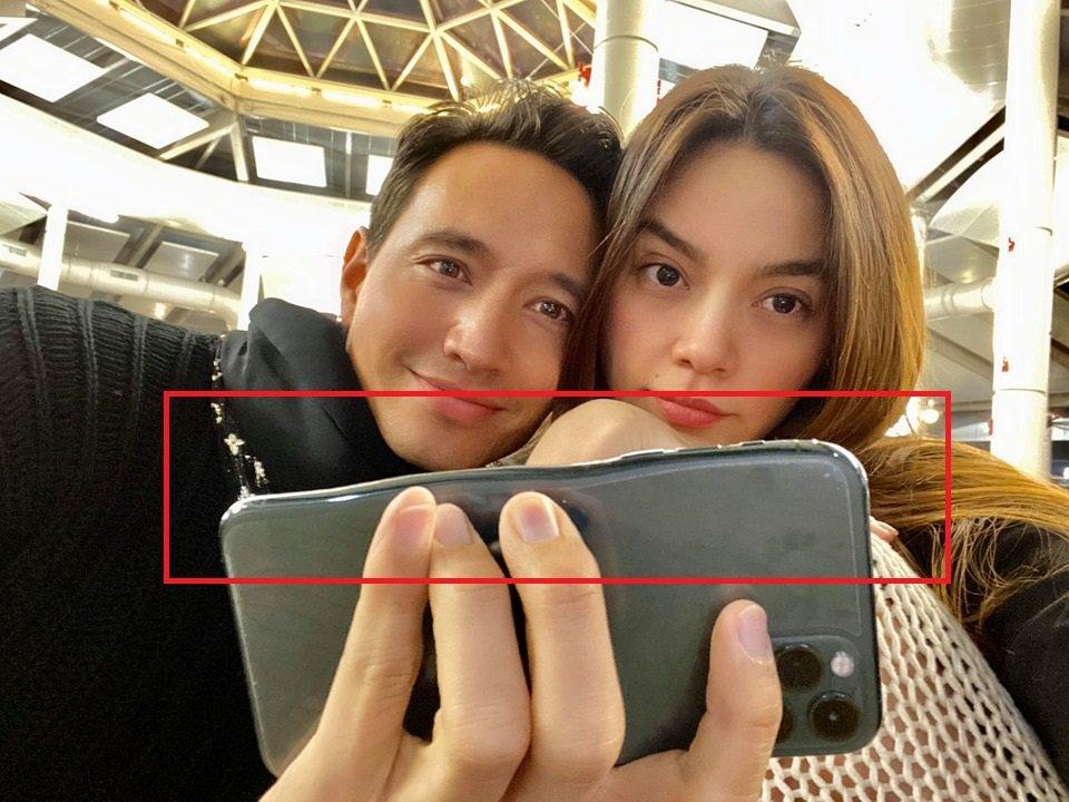 Kim Lý - Hồ Ngọc Hà đăng ảnh đẹp đôi, nhưng ai nấy phát khiếp khi nhìn thấy chiếc điện thoại bị nung chảy - Hình 2