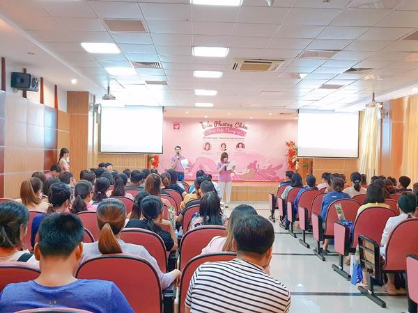 Ngày hội mới lạ cho bà bầu ở Bệnh viện quốc tế Phương Châu - Hình 1