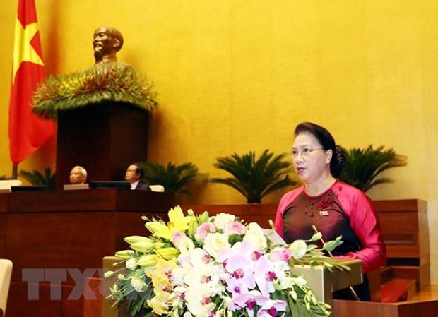Phát biểu khai mạc Kỳ họp thứ 8, QH Khóa XIV của Chủ tịch Quốc hội - Hình 1
