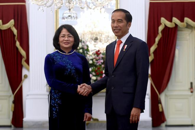 Phó chủ tịch nước dự lễ nhậm chức tổng thống Indonesia - Hình 1