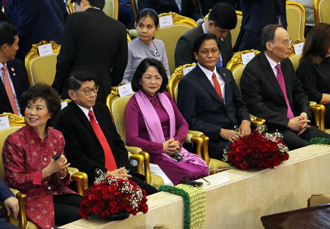 Phó chủ tịch nước dự lễ nhậm chức tổng thống Indonesia - Hình 2