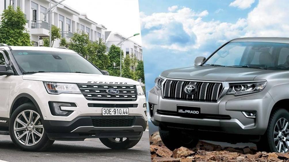 SUV tầm giá trên 2 tỷ: Chọn Ford Explorer hay Toyota Land Cruiser Prado? - Hình 1