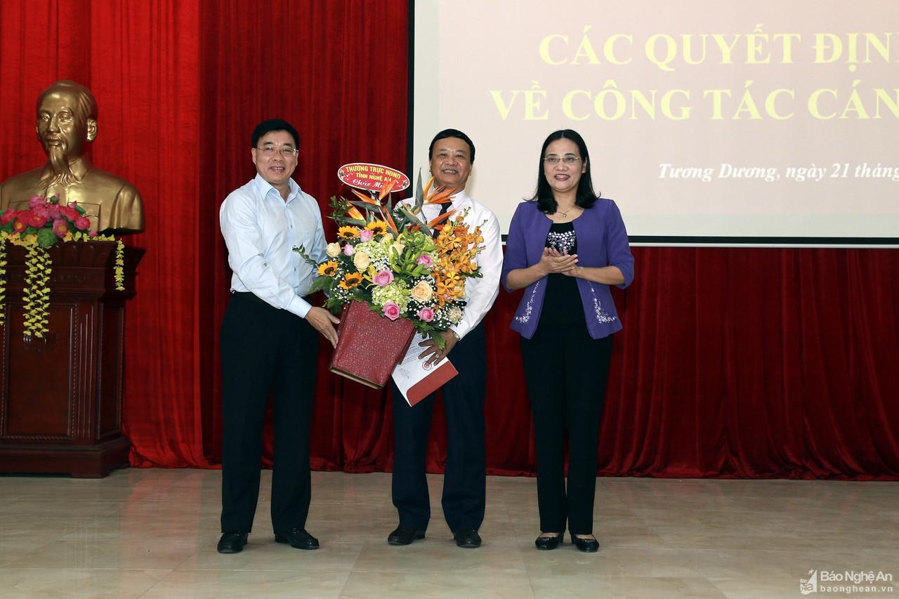 Tương Dương có tân Chủ tịch HĐND huyện và tân Phó Bí thư Huyện ủy - Hình 1