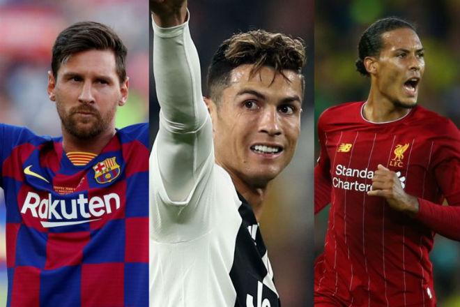 Chốt đề cử Quả bóng Vàng 2019: Messi, Ronaldo đấu dàn tinh tú nào? - Hình 1