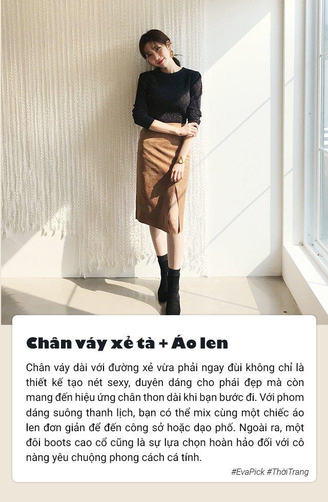 Để Thu này hơn hẳn Thu xưa, đây là 7 cách mặc chân váy dài đẹp ai cũng cần biết - Hình 2