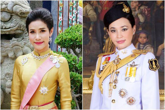Lật tẩy tham vọng chiếm ngôi hoàng hậu của Hoàng quý phi Thái Lan - Hình 1