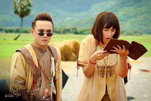 Phim điện ảnh Pháp sư mù là bộ phim Việt đầu tiên giới thiệu trọn vẹn thế giới cô hồn dã quỷ hoành tráng và đầy màu sắc - Hình 1