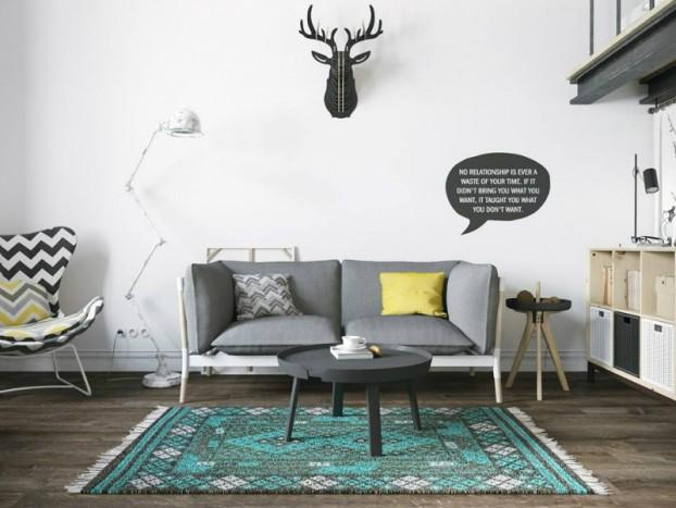 Sử dụng màu vàng táo bạo cho căn hộ 25m² chuẩn phong cách Scandinavia - Hình 2