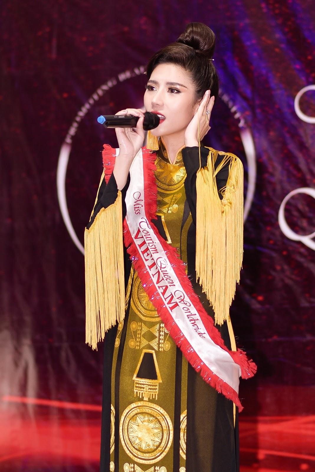 Dương Yến Nhung xuất sắc giành Á hậu 2 phần thi tài năng tại Miss Tourism Queen Worldwide 2019 - Hình 1