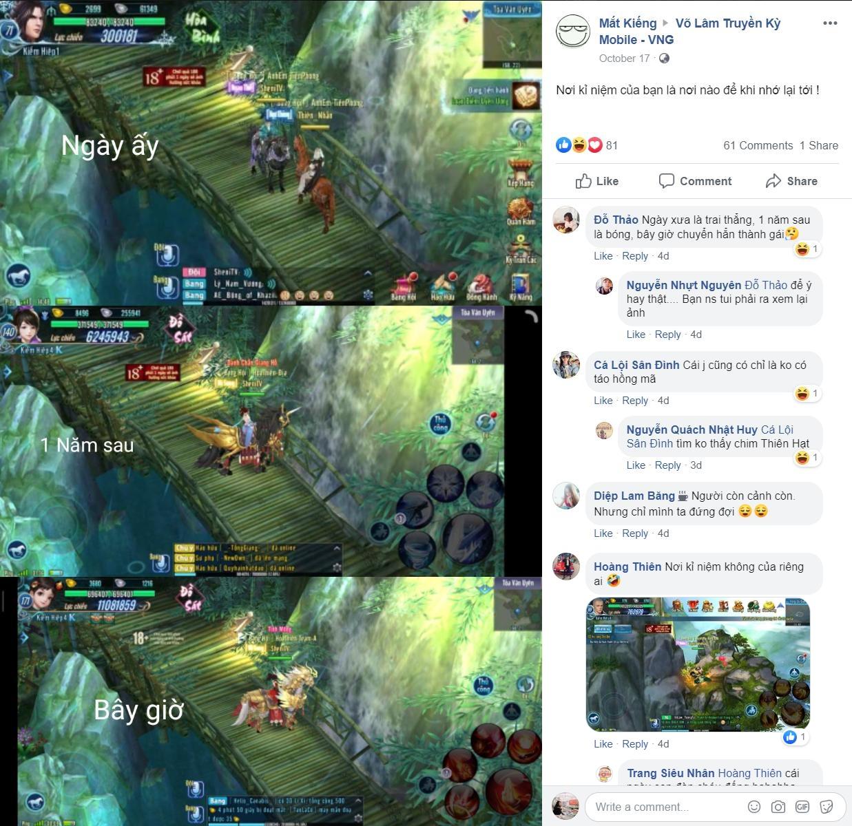 Nghe game thủ Võ Lâm Truyền Kỳ Mobile kể chuyện ba năm - Hình 2
