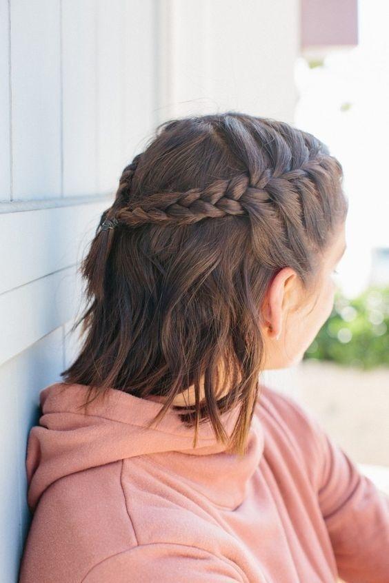 Thêm loạt kiểu tóc buộc xinh ngất ngây lại giúp hack tuổi cực hay nàng tóc ngắn nào cũng nên thử - Hình 4