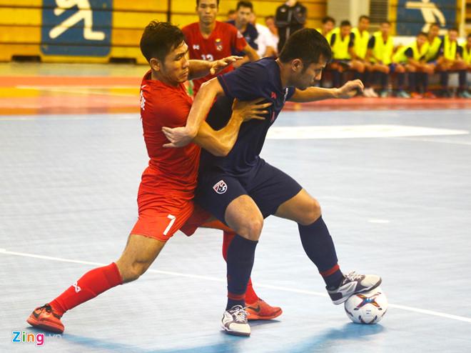 Tuyển Thái Lan khẳng định đẳng cấp ở giải futsal Đông Nam Á - Hình 1