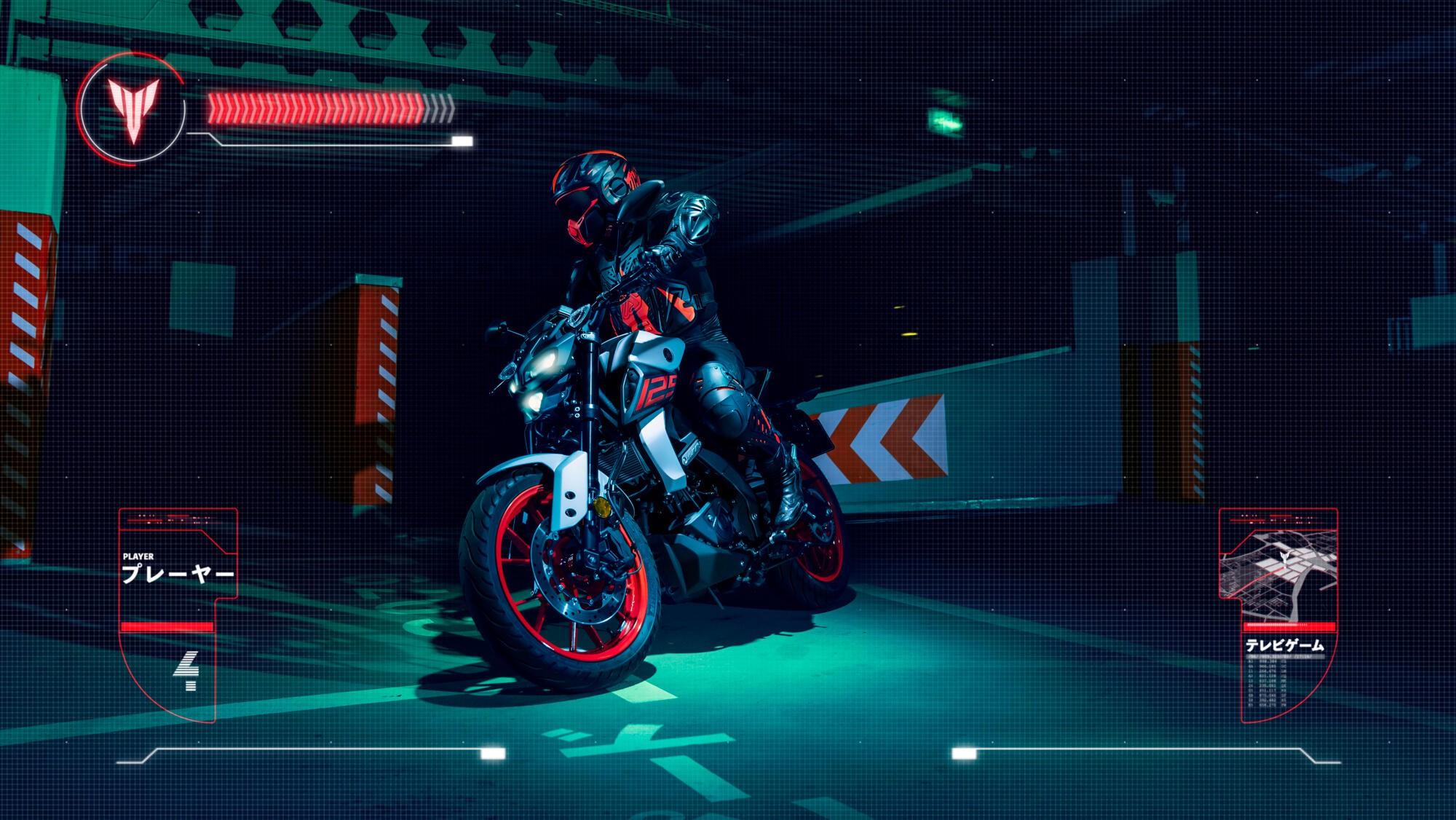 Yamaha MT-125 ra mắt tại thị trường châu Âu - Hình 2