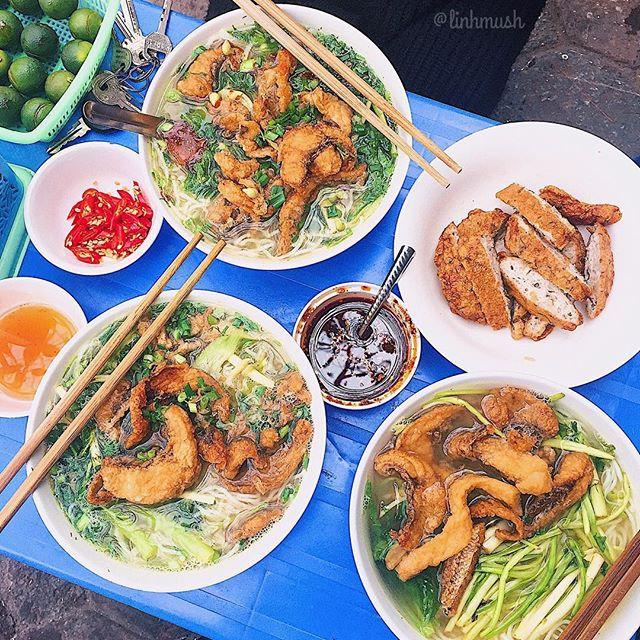 4 quán bún cá thơm lừng ở Hà Nội mở cả ngày cho fan cuồng bún cá - Hình 1