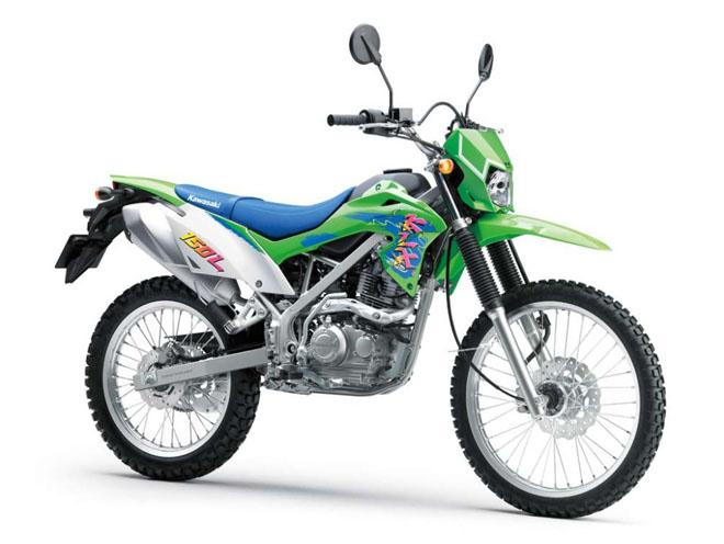 Cào cào Kawasaki KLX150 ra màu mới: Giá từ 52 triệu đồng - Hình 1