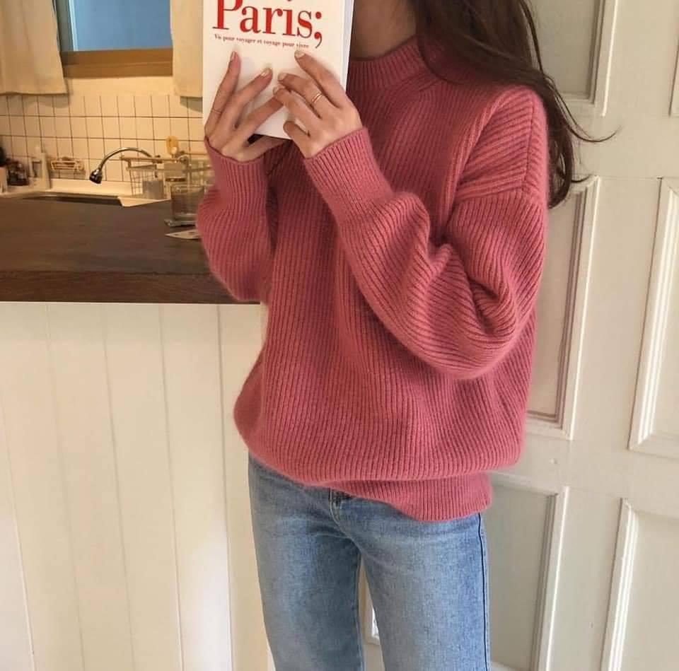Quần jeans và áo len - bộ đôi cho các nàng thêm năng động - Hình 3