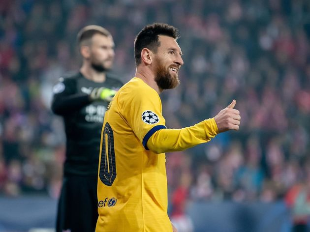 Ghi bàn vào lưới Slavia Prague, Messi xô đổ một loạt kỉ lục - Hình 1