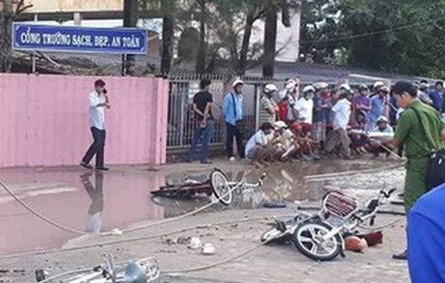 NÓNG: Một học sinh lớp 2 ở Hà Nội tử vong trong sân trường, nghi do bị điện giật giờ ra chơi - Hình 1