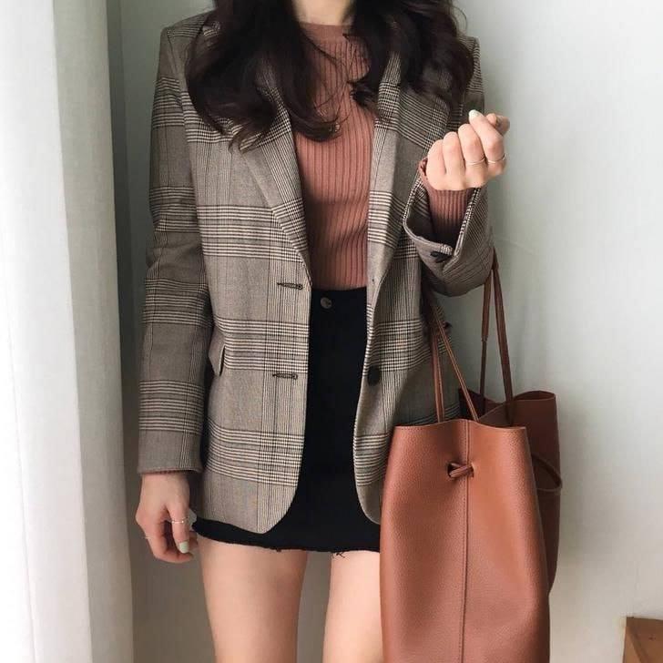 Sang chảnh và tự tin với áo khoác blazer cho cô nàng công sở - Hình 4