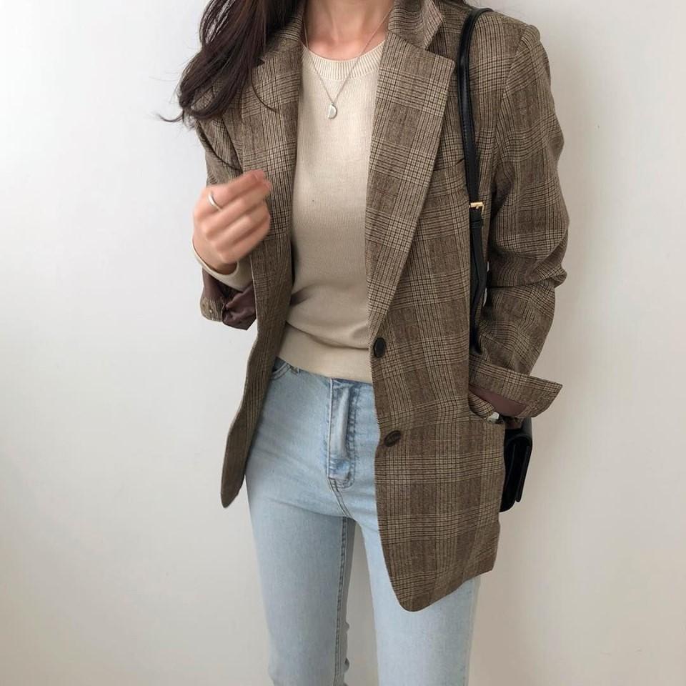 Sang chảnh và tự tin với áo khoác blazer cho cô nàng công sở - Hình 3