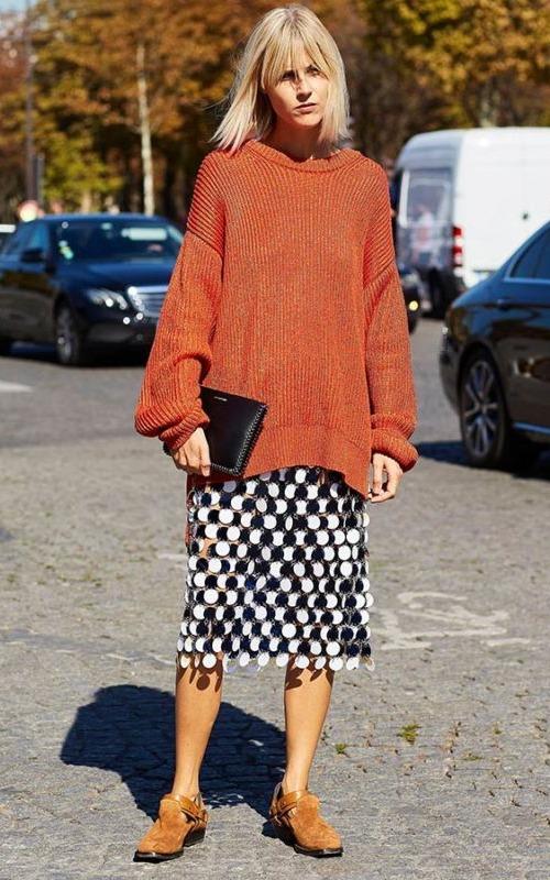 4 kiểu mặc áo len không lo nhàm chán cho phái đẹp - Hình 13