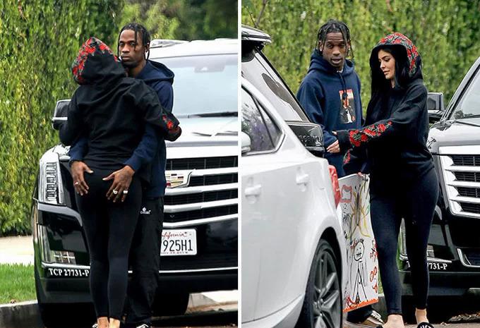 Chuyện tình của Kylie Jenner và Travis Scott - Hình 2