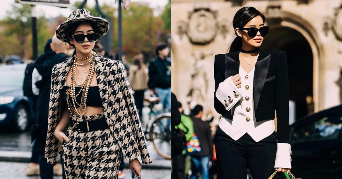 Diện toàn đồ hiệu chất, Rich Kid Tiên Nguyễn khiến Paris Fashion Week sửng sốt - Hình 17