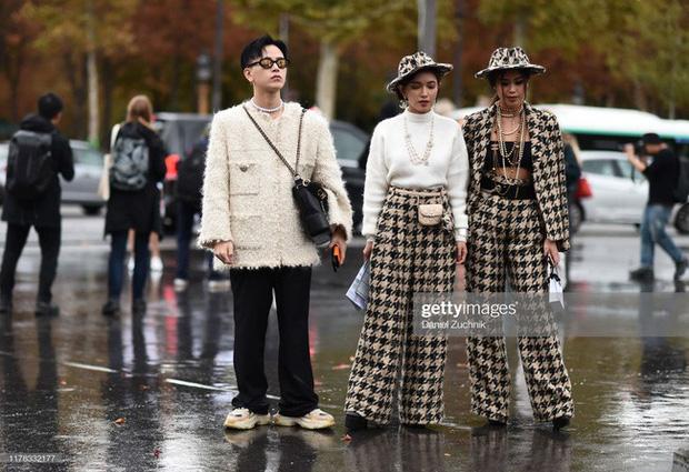 Diện toàn đồ hiệu chất, Rich Kid Tiên Nguyễn khiến Paris Fashion Week sửng sốt - Hình 9