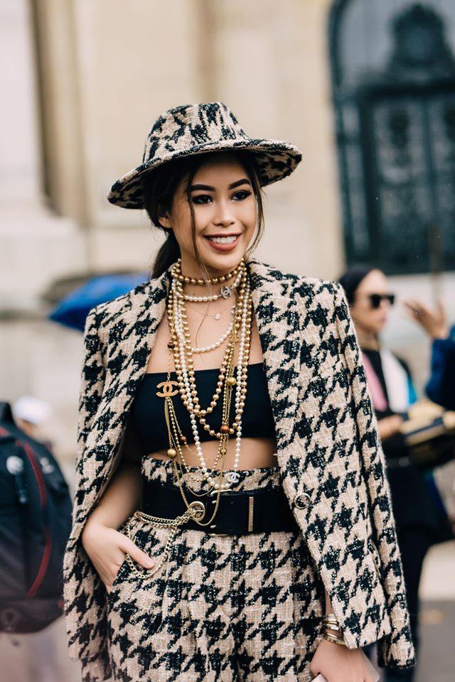 Diện toàn đồ hiệu chất, Rich Kid Tiên Nguyễn khiến Paris Fashion Week sửng sốt - Hình 14