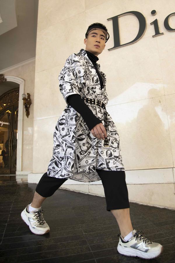 Streetstyle chất lừ của mẫu nhí Việt ở Vietnam International Fashion Week - Hình 2