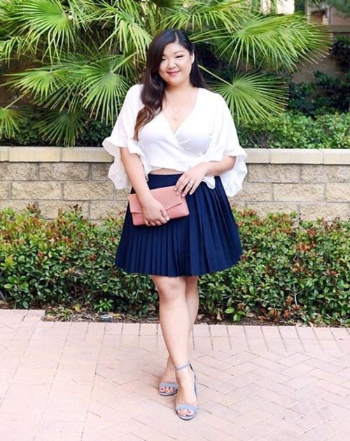 Nguyên tắc cơ bản giúp nàng béo mặc đẹp suốt đời - Hình 6