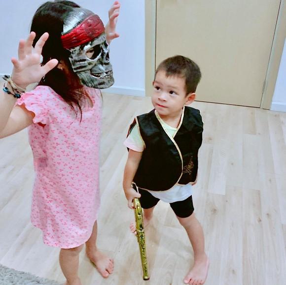 Sao Vbiz hoá trang độc đáo nhập hội Halloween, kéo đến dàn nhóc tỳ mới thích mắt vì như lạc vào thế giới phép thuật - Hình 10