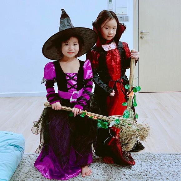 Sao Vbiz hoá trang độc đáo nhập hội Halloween, kéo đến dàn nhóc tỳ mới thích mắt vì như lạc vào thế giới phép thuật - Hình 11