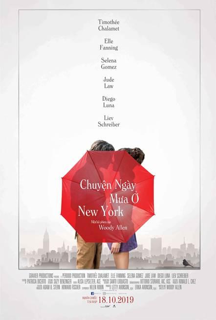 A Rainy Day In New York - Chuyện Ngày Mưa Ở New York: Bản tình ca ngọt ngào của nhửng kẻ si tình - Hình 1