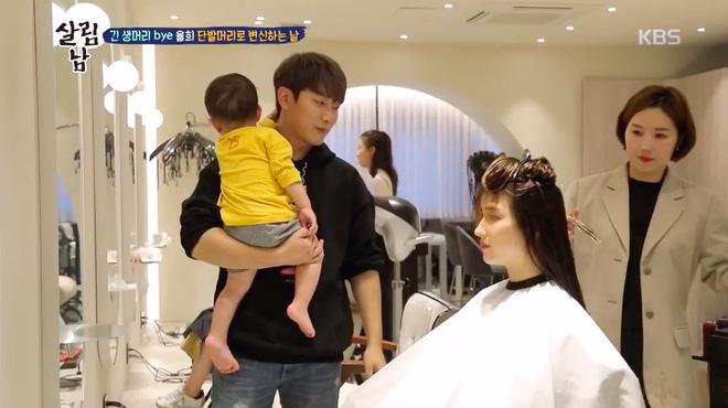 Minhwan (F.T. Island) khiến dân mạng phát sốt vì phản ứng khi thấy vợ trẻ cắt tóc ngắn - Hình 2