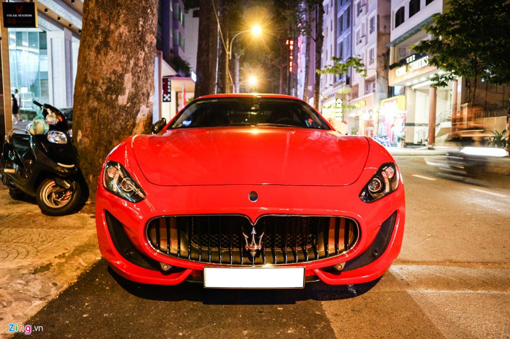 Chiêm ngưỡng Maserati GranTurismo Sport màu đỏ hàng hiếm ở VN - Hình 2