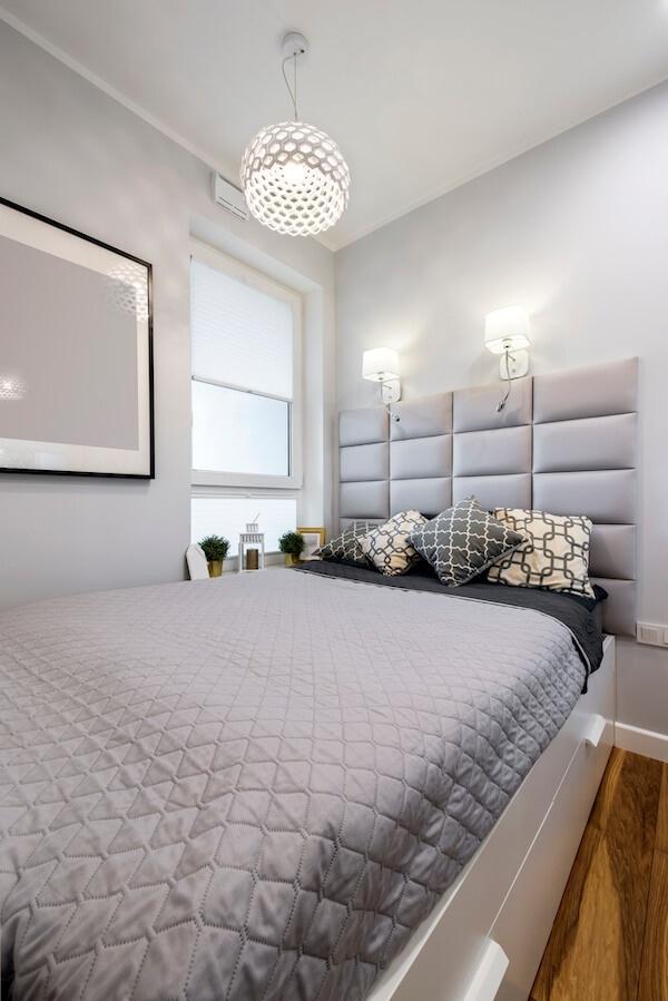 Phòng ngủ nhỏ xíu mà cũng rộng thênh thang nhờ cách bố trí tài tình - Hình 1