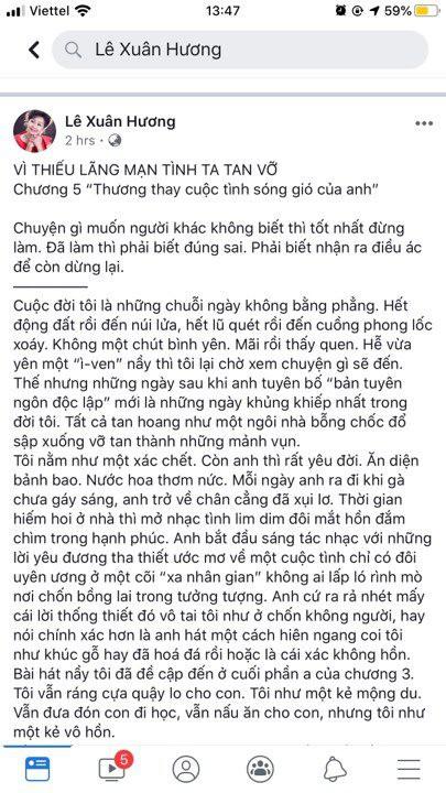 4 chương chưa phải kết thúc, NS Xuân Hương tiếp tục tung chương 5 kể chuyện phải tới đồn công an để cứu người tình của chồng cũ - Hình 2