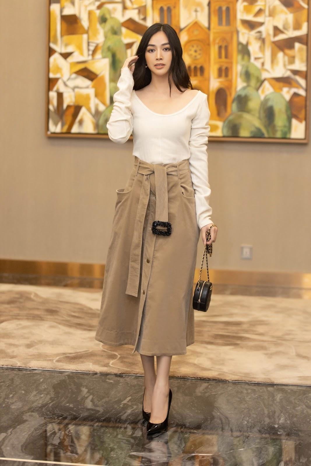 Diễn viên Mai Thanh Hà phong cách khi diện váy Lâm Gia Khang - Hình 12