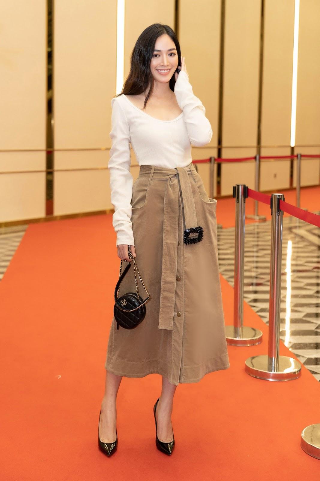 Diễn viên Mai Thanh Hà phong cách khi diện váy Lâm Gia Khang - Hình 9