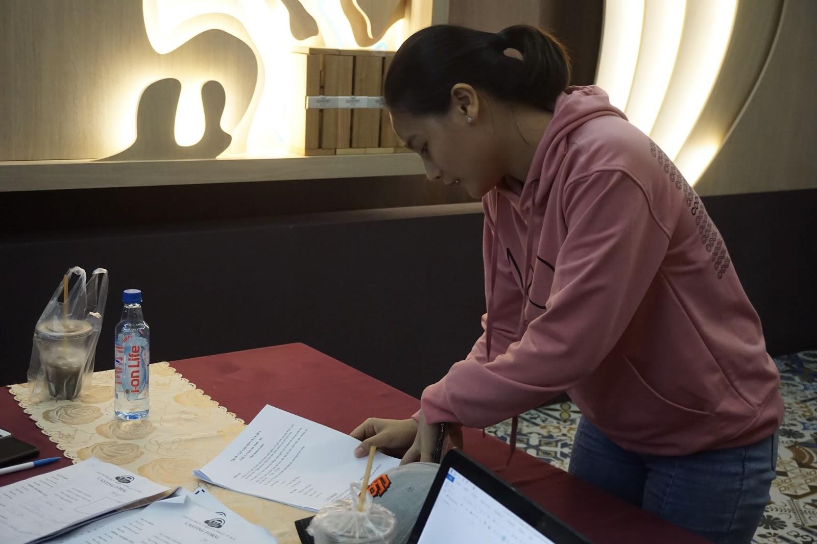 Huyền Thạch, Lâm Hải Sơn hào hứng đến casting dự án 'Hạt giống tâm hồn' - Hình 1