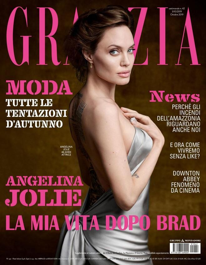 Phát sốt vì nhan sắc lột xác của Angelina Jolie gần đây: Cuối cùng nữ hoàng nhan sắc một thời đã trở lại! - Hình 1