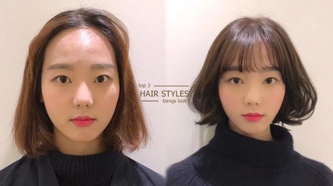 Vài kiểu tóc mái đơn giản giúp các nàng che nhược điểm mặt to - Hình 1
