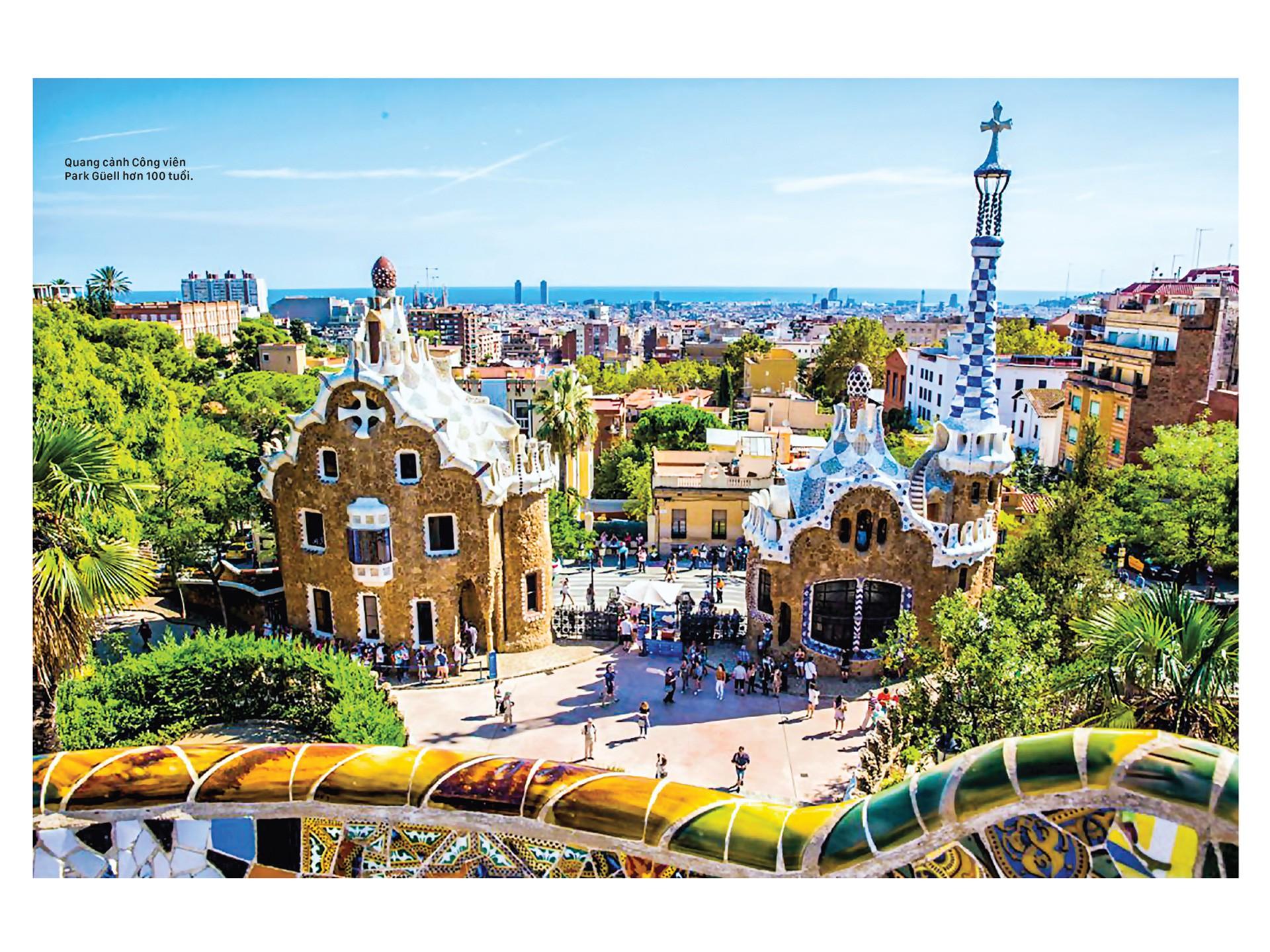 Thiên đường kiến trúc Gaudí ở Barcelona - Hình 1