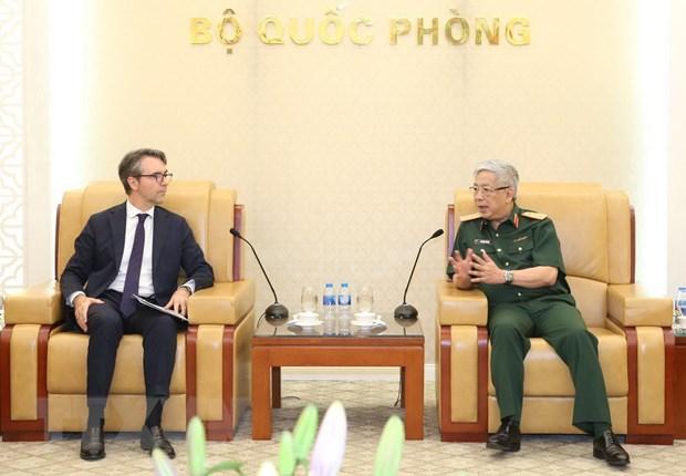 Tiếp tục thúc đẩy quan hệ quốc phòng giữa Việt Nam và EU - Hình 1